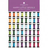 Happy Little Spools Quilt Pattern by Missouri Star