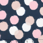 Blush - Puffs Blue Sparkle Yardage