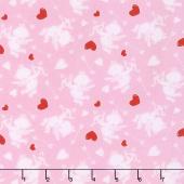 Love Struck - Cupids Pink Yardage