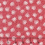 Sorbet - Floral Red Yardage