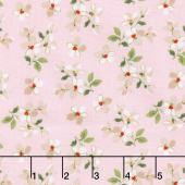 Farmhouse Floral - Toss Pink Yardage
