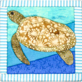 Artsi2™ Sea Turtle Quilt Board Kit
