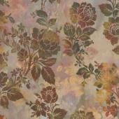Diaphanous - Night Bloom Mulberry Digitally Printed Yardage