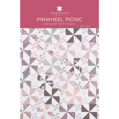 Pinwheel Picnic Quilt Pattern by Missouri Star