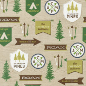 The Great Outdoors - Outdoors Main Tan Yardage