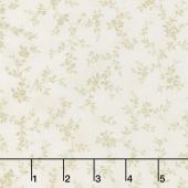 Avery Hill - Blossom Branches Ivory Yardage