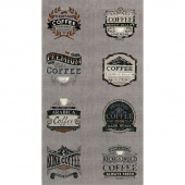 Brew - Coffee Warm Grey Panel