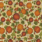 Harvest Berry - Harvest Pumpkin Biscotti Multi Yardage