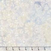 Snowberry Batiks - Large Snowflake Heather Yardage