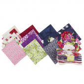 Floral Serenade Fat Quarter Crystals