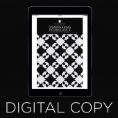 Digital Download - Disappearing Hourglass 3 Quilt Pattern by MSQC