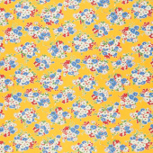 Good Times - Bouquet Yellow Yardage