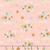 Neverland - Neverland Star Flower Pink Yardage