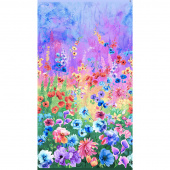 Day Dreaming - Floral Multi Digitally Printed Panel