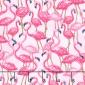 Animals - Flamingos Pink Yardage