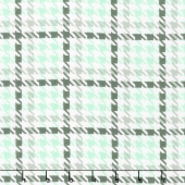 Cozy Cotton Flannels - Cool Mint Houndstooth Mint Yardage