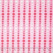 Hugaboo - Dot to Dot Pink Yardage