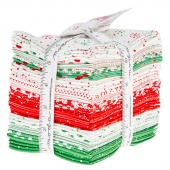 Red Dot Green Dash Fat Quarter Bundle