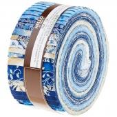 Holiday Flourish 10 Blue Roll Up