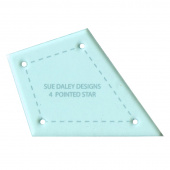 Sue Daley Four Pointed Star Template Only