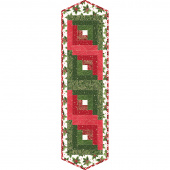 Glad Tidings Log Cabin Table Runner POD Kit