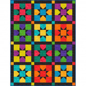 Twist & Shout Scrappy Star Quilt Kwik Kit