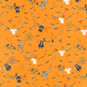 Ghouls and Goodies - Spooky Clothesline Candy Yardage
