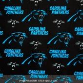 NFL - Carolina Panthers Cotton Yardage