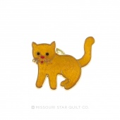 Cat Yellow Pin by Pin Peddlers