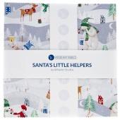"Santa's Little Helpers 10"" Squares"