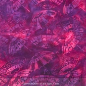 Empress Garden Batiks - Umbrella Plum Yardage