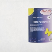 "Bosal Craf-Tex Table Runner Double Sided Fusible Pad 20"" x 50"""