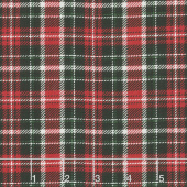 Cardinal Woods - Plaid Red Multi Yardage