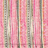 Legendary - Trinkets Boho Pink Yardage