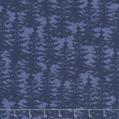 The Great Outdoors - Outdoors Trees Blue Yardage