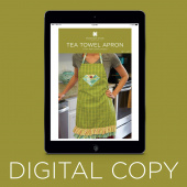 Digital Download - Tea Towel Apron Pattern by Missouri Star