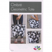 Ombre Geometric Tote Pattern