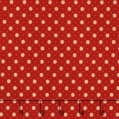 Gingham Girls - Gingham Flower Red Yardage