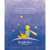 The Little Prince - Prince Navy Digitally Printed Panel
