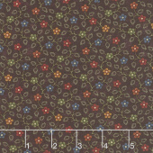 Milestones - Hope Blooms Purple Yardage