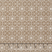 Olive's Flower Market - Catherdral Lace Taupe Yardage