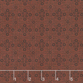 Itty Bitty - Tiles Red Yardage