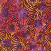 Artisan Batiks - Retro Metro Fireworks Flame Yardage