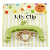 "JELLY CLIP 4"" GREEN"