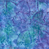 "Tonga Batiks Wide - Tropical Reef 106"" Backing"