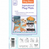 Dog Days Inspirational Mug Mats Pattern