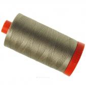 Aurifil 50 WT Cotton Mako Large Spool Thread Linen