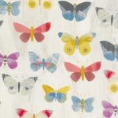 Wonder - Newspaper Butterflies Sand Yardage
