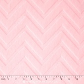 "Cuddle Embossed Chevron - Blush 60"" Yardage"