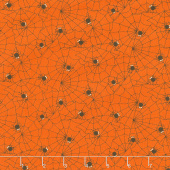A Spooky Good Time - Spider Web Pumpkin Yardage